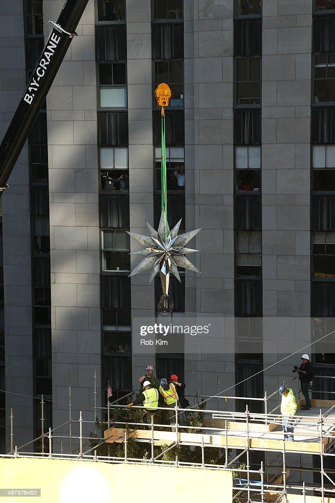 Rockefeller Center Christmas Tree Stock Photos and ...