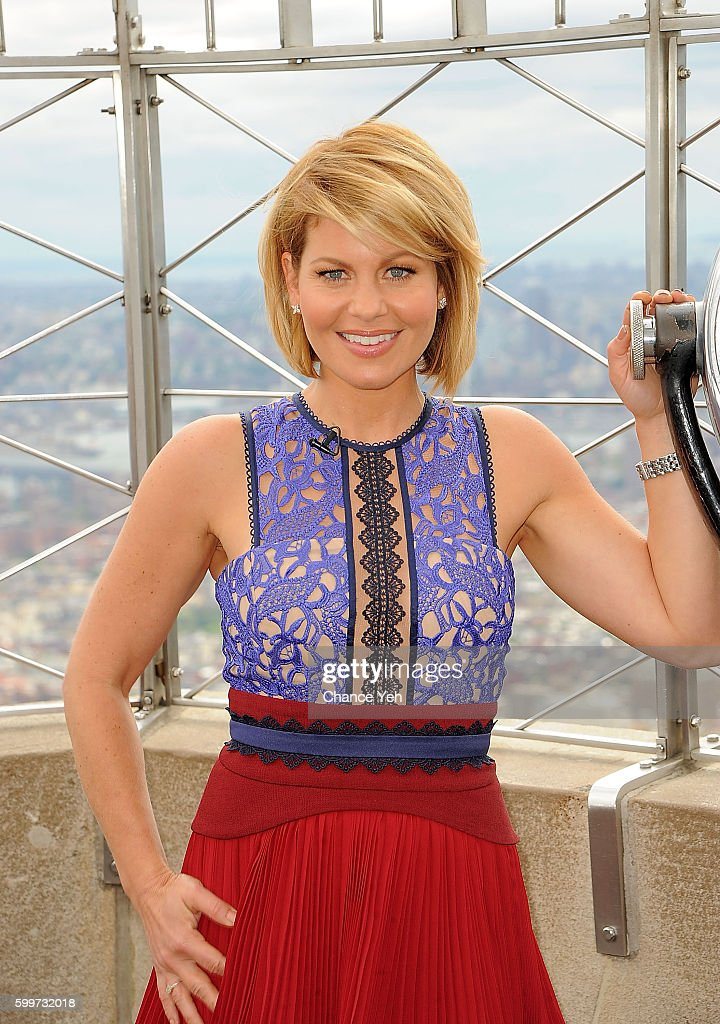 The View Co Hosts Joy Behar And Candace Cameron Bure