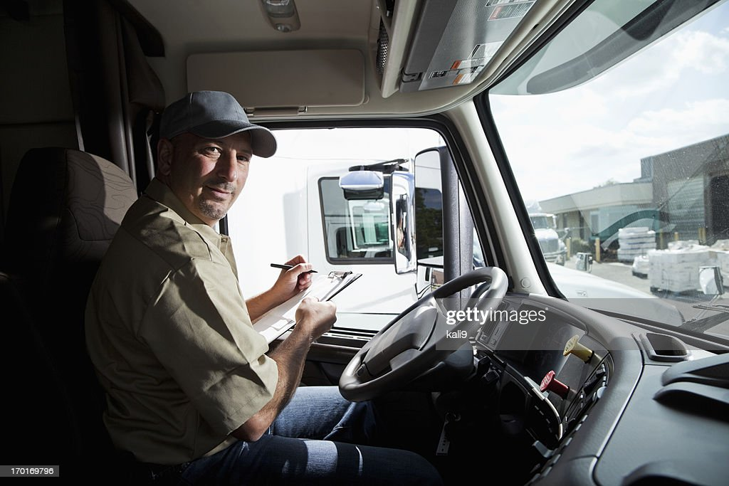 Truck Driver Stock Photos and Pictures   Getty Images
