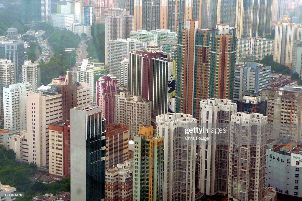 Tsuen Wan Skyscape Stock Photo | Getty Images