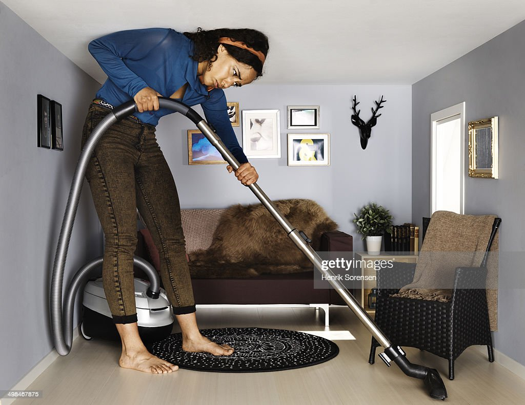 Barefoot Women Doing Housework Stock Photos And Pictures