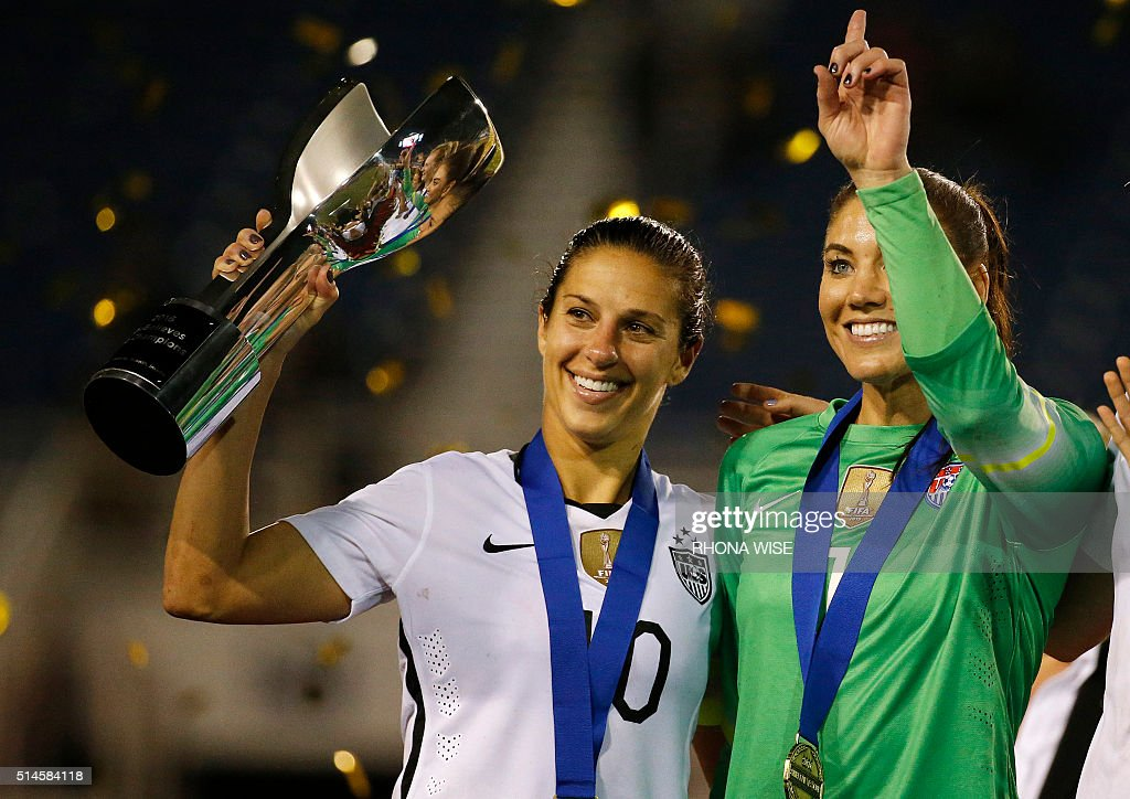 United States Women's National Soccer Team Stock Photos ...
