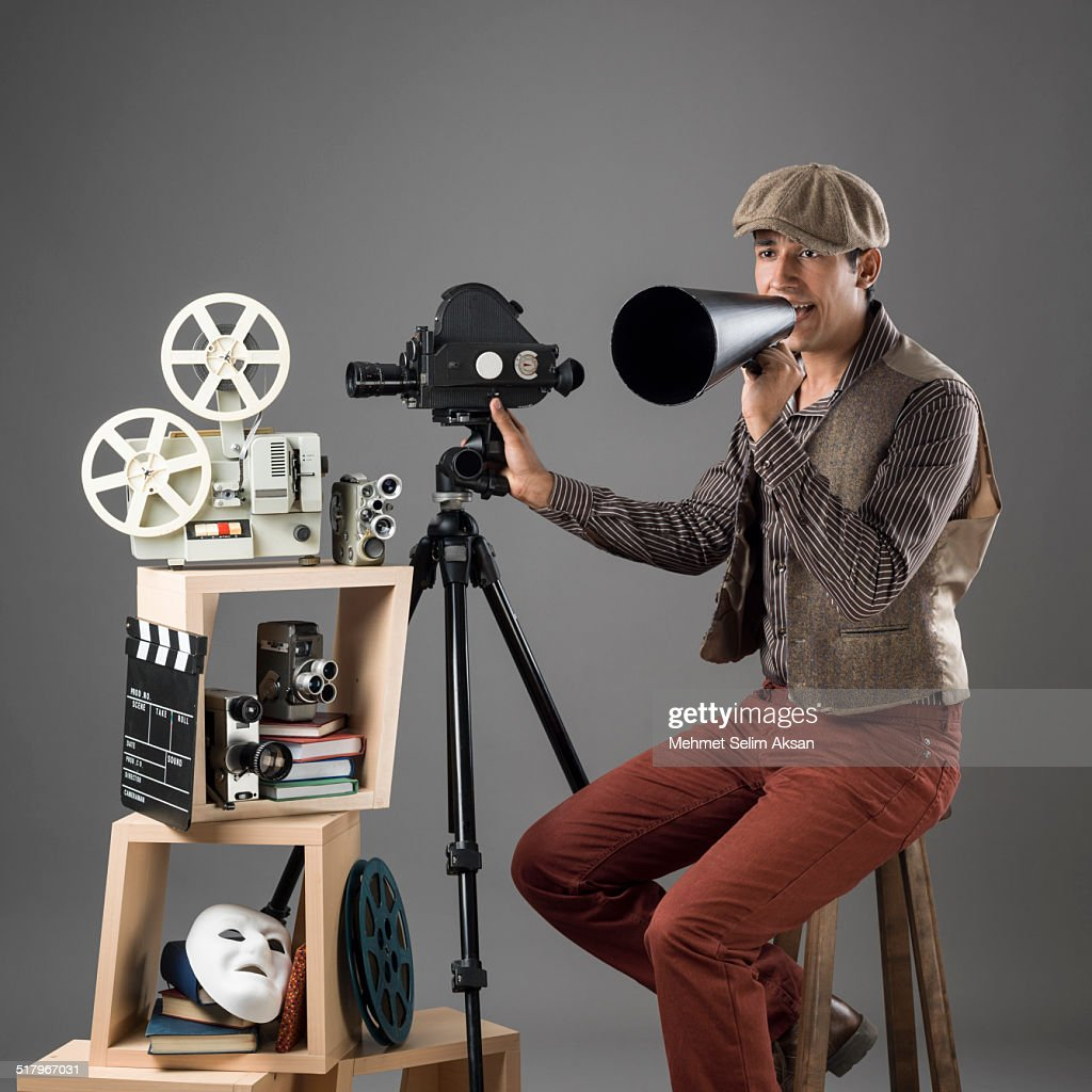 Young Film Director In Period Costume Stock Photo | Getty ...