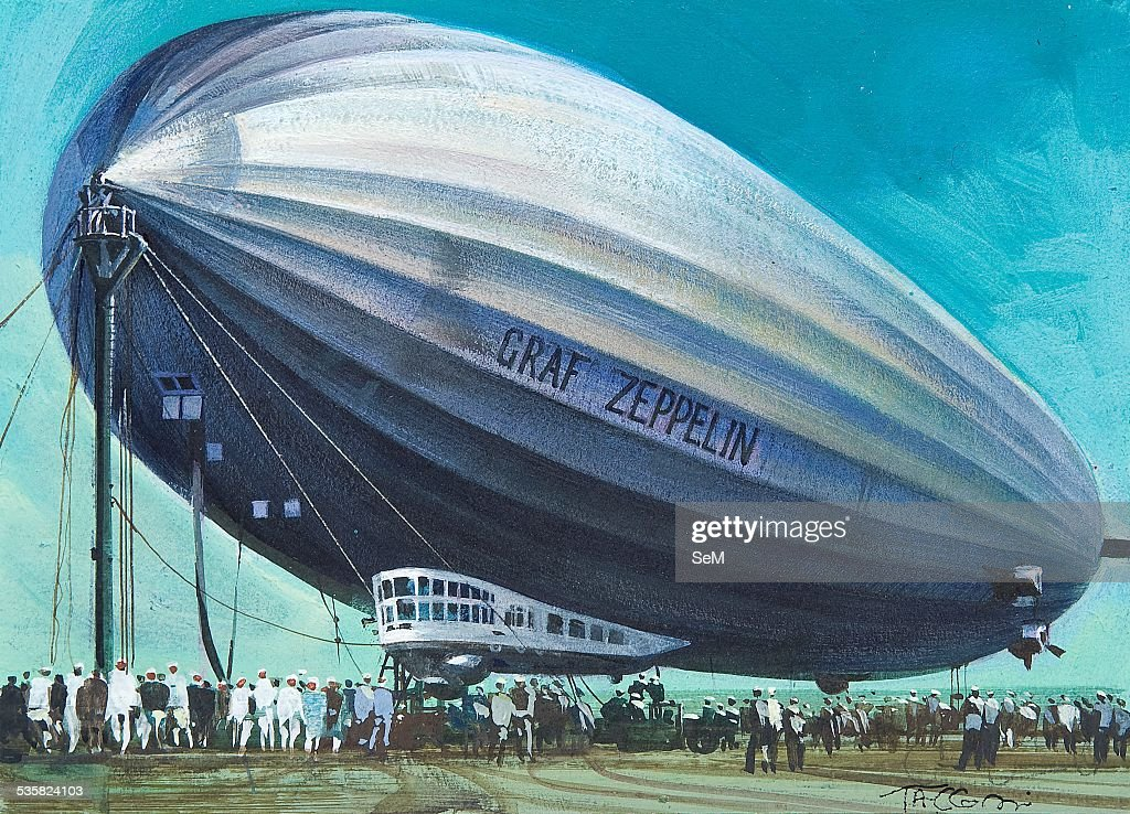 Rigid Airship Stock Photos and Pictures   Getty Images