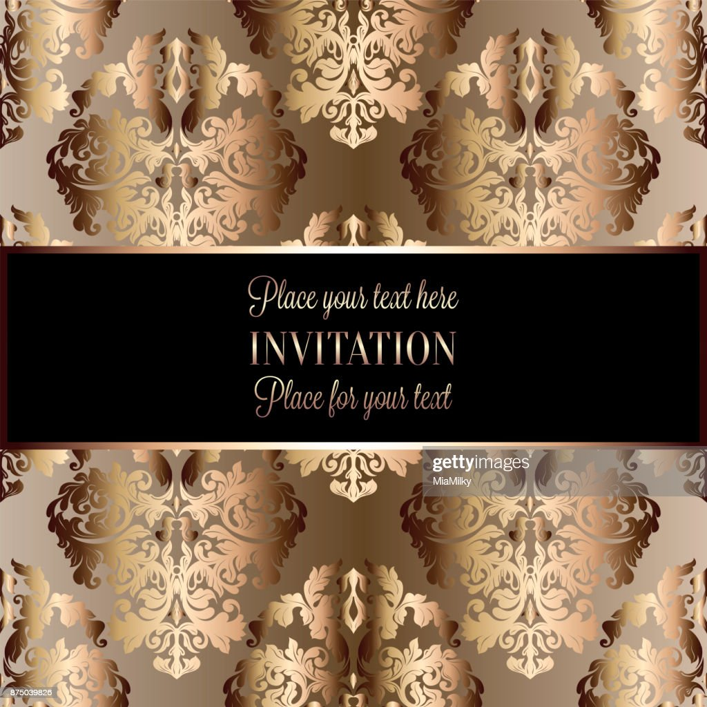 https www gettyimages ch detail illustration baroque background with antique luxury black lizenfreie illustration 875039826 language fr