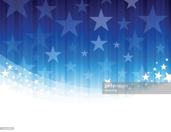 Blue Star Abstract Background High-Res Vector Graphic ...