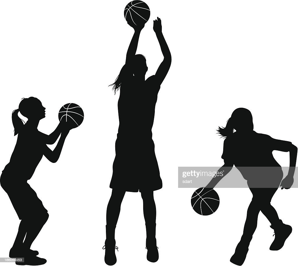 バスケットボールのシュートのイラスト素材と絵 | Getty Images