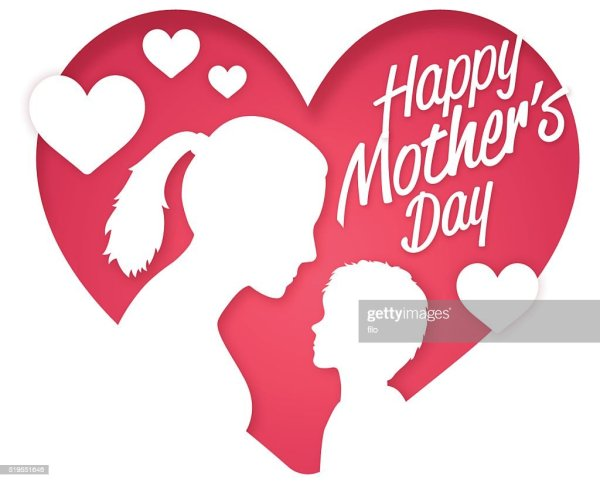 Happy Mothers Day Vector Art   Getty Images