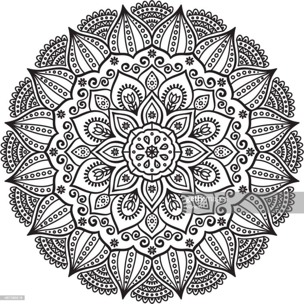 Mandala Vektorgrafik Thinkstock