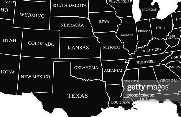 HD Decor Images » Usa Map Outline Vector With Scales In Black Color Vector Art     USA map outline vector with scales in black color   Vector Art