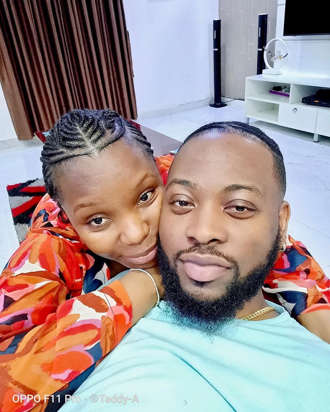 Teddy A and Bam Bam Share New Photos Of Their Cozy Moments With Fans - GH Gossip