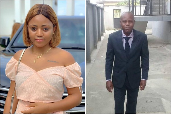 See How Fans Have Reacted To Regina Daniels' Father Attending His Grandson's Naming - GH Gossip