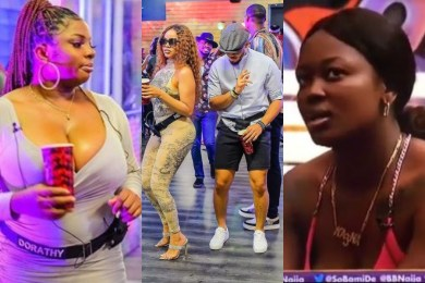 BBNaija 2020 Season 5: Ozo blows hot as Ka3na refers to Dorathy as side chick