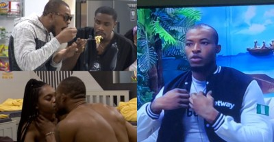BBNaija 2020: Nigerians Drag Eric For Eating Indomie Barely An Hour After Lilo Was Evicted (VIDEO)