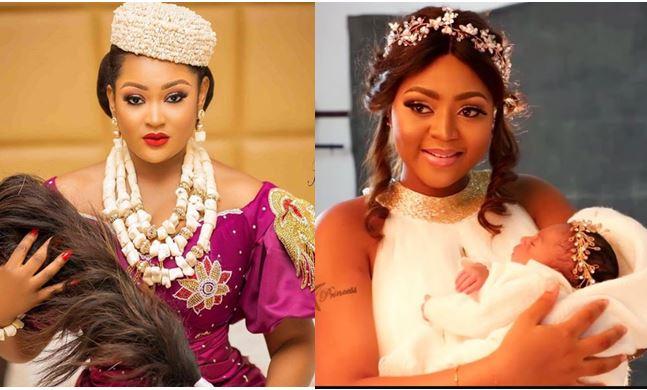 Top Nollywood Actress Reveals A SECRET About Regina Daniels' Son - GH Gossip
