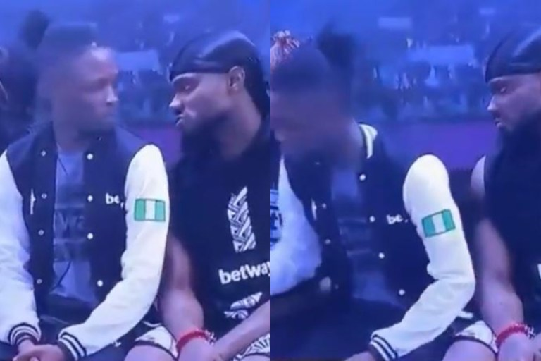 BBNaija 2020: How Prince Embarrassed Laycon So He Can Spend Time With Tolanibaj (Video)