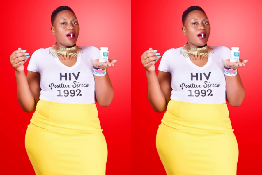 Lady Who Has Lived With HIV/AIDS For 28 Years Celebrates Her 28th ...