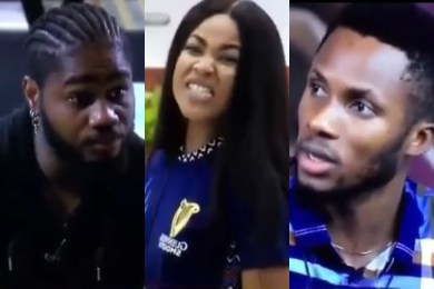 BBNaija 2020: Praise Fumes With Anger After Erica Hid Food In The HOH Room (Video)