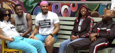 BBNaija 2020: Ozo Leads Team White To Another Victory In Betway Trivia Games