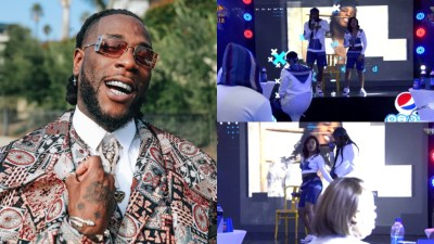BBNaija 2020: Burna Boy Advices Housemates - 'Keep Your Head Up And Stay Twice As Tall' (Video)