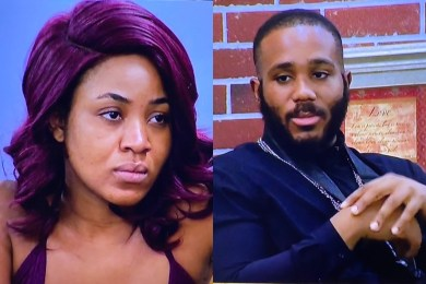 BBNaija 2020: Erica Fires Kiddwaya For Sucking Fellow Female's B00bs At The Party (Video)