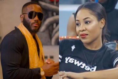 BBNaija 2020: Watch As Kiddwaya Blasts Erica - 'I'm Tired Of This Sh!t' (Video)