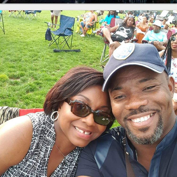 Comedian Okey Bakassi and his wife celebrate their 20th wedding anniversary