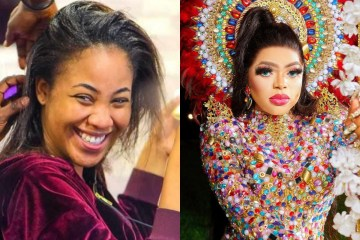 Bobrisky reacts over Erica's outburst on Laycon