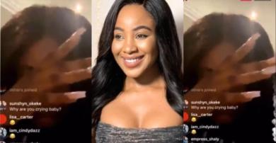 Mercy Eke Shed Tears Over Erica's Disqualification At BBnaija House – Video