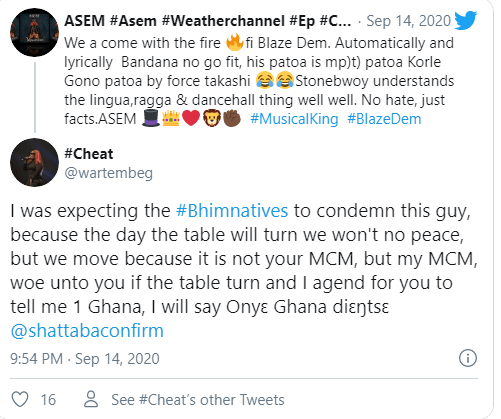 Stonebwoy Is Better Than Shatta Wale When It Comes To Speaking Of Patois-Asem 2