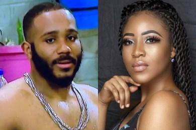 BBNaija: Kiddwaya shares first video call, sending lots of love to Erica (Video)