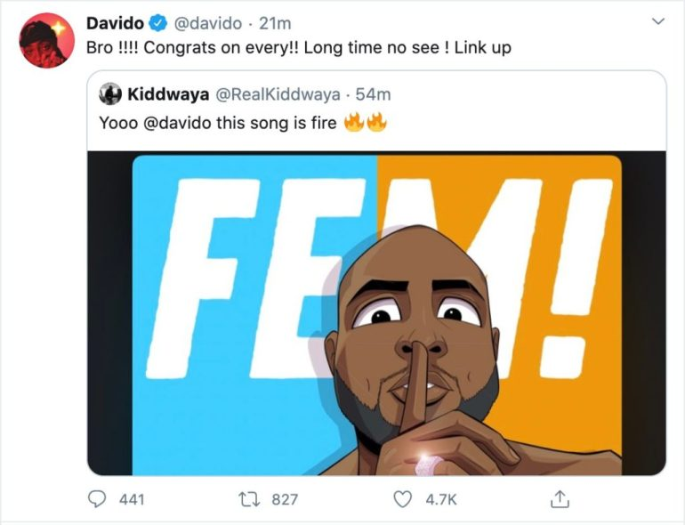 Davido Replies Kiddwaya, Davido Replies Kiddwaya After He Reacted To His New Song FEM, Premium News24