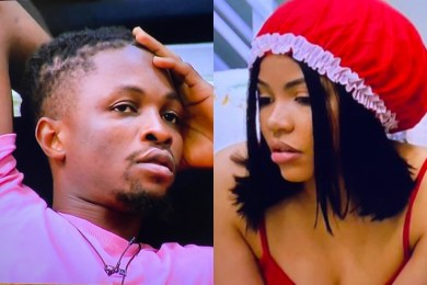 """""""I Heard You Moaning"""" – Laycon Tells Nengi After Seeing Her With Ozo (Video)"""
