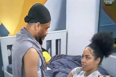 BBNaija 2020: Nengi and Ozo's love affair gets more cozier (Video)