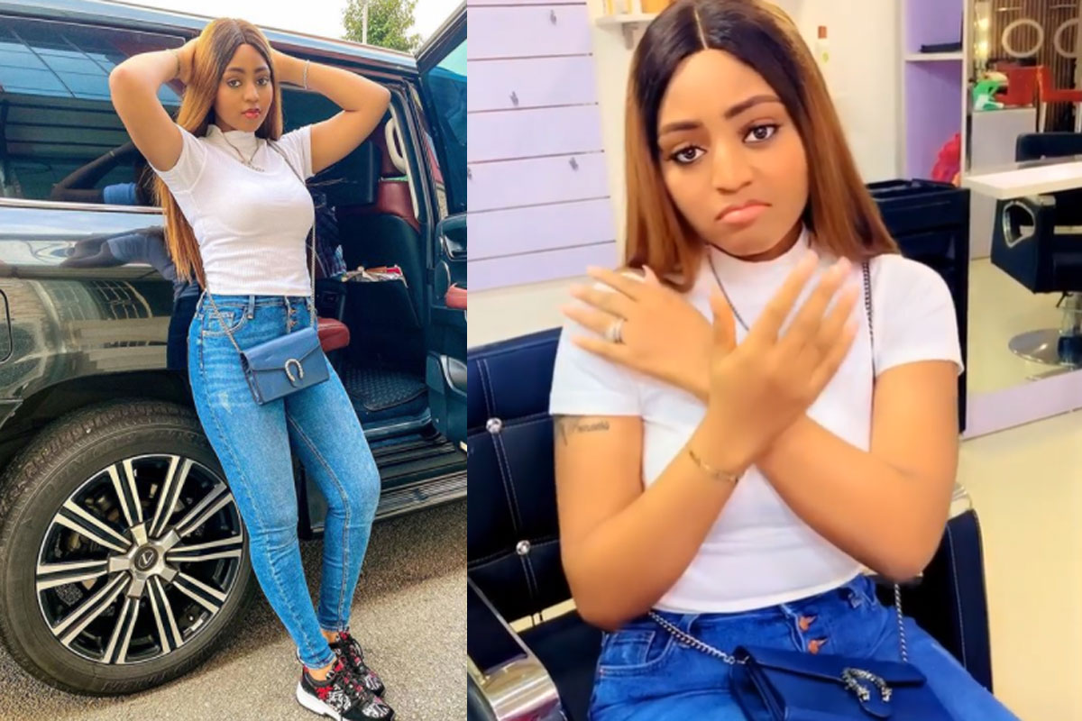 CHECK OUT All The 7 Beautiful Tattoos On Regina Daniels' Body (PHOTOS)