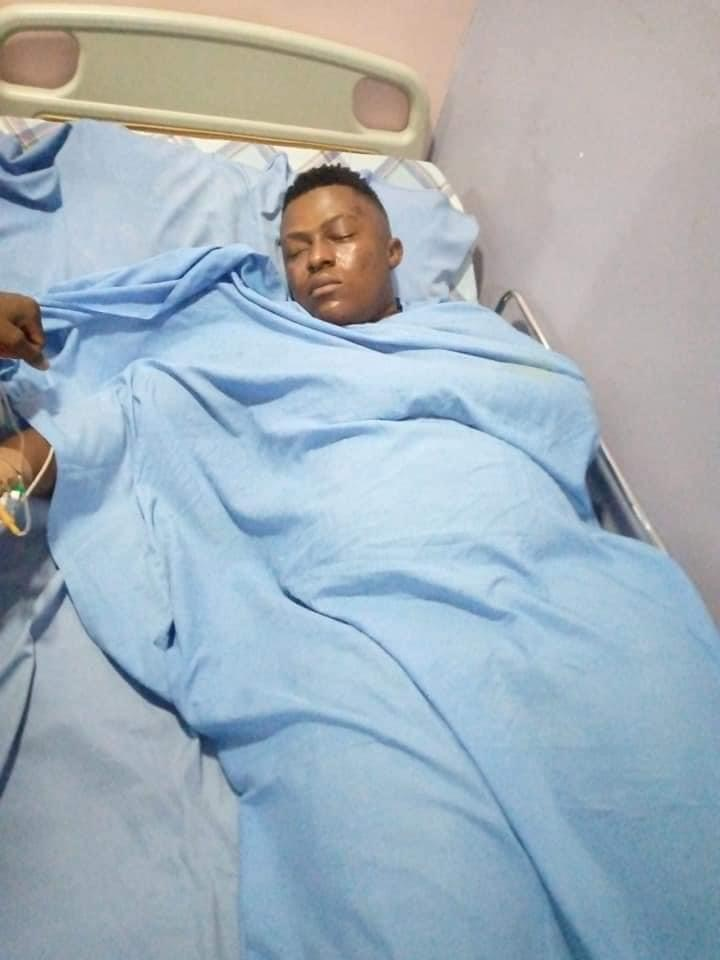 Young man reportedly killed by SARS is still alive, Young man reportedly killed by SARS is still alive, responding to treatment (Photos), Premium News24