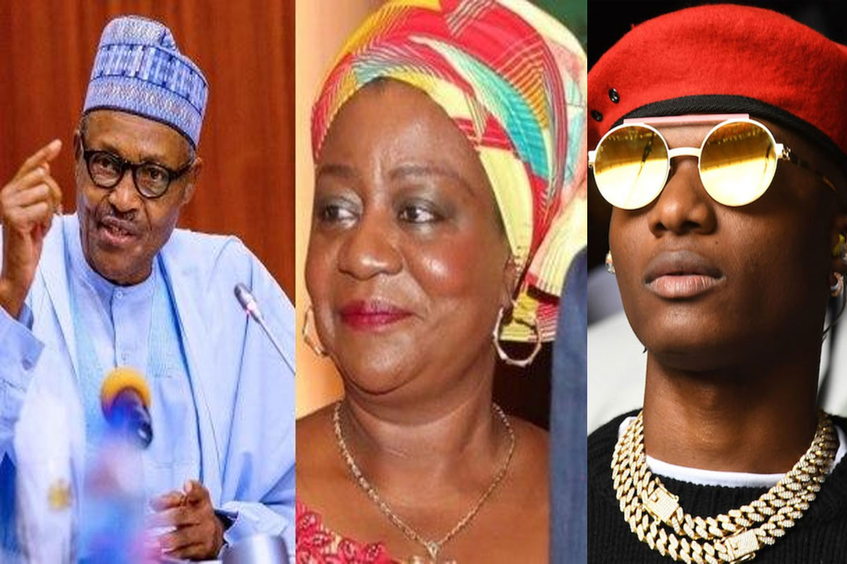 "Shame On You"" - Wizkid Fires Back At Lauretta Onochie For Calling Him A Dumbkid Over Buhari Comments"