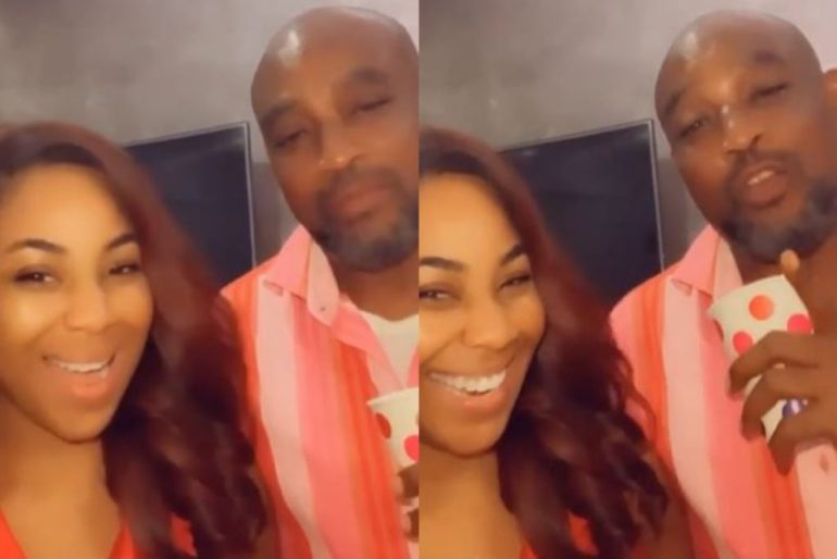 It's Family Reunion Time: #BBNAIJA Erica Meets Biological Father For The First Time Since Birth