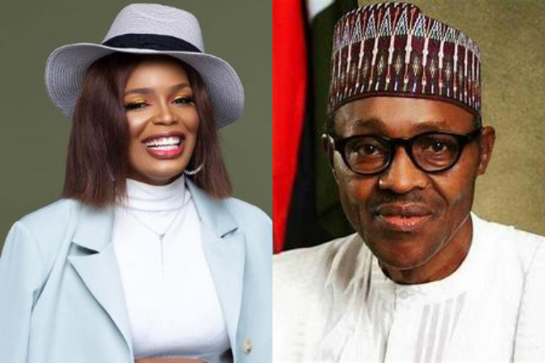 """God Will Punish You, Buhari"" - #BBNAIJA Star, Kaisha Goes Haywire And Slams President Buhari (Photo)"