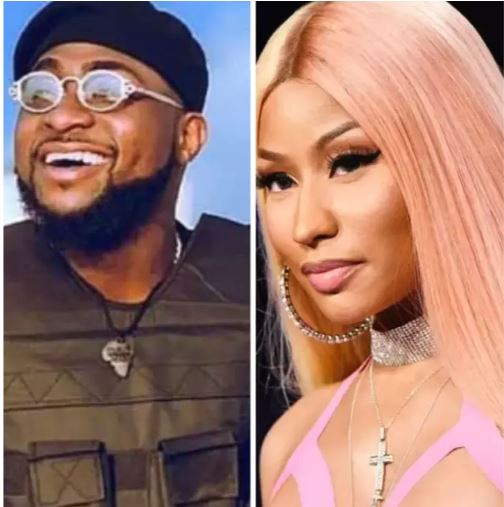 Nicki Minaj Charges People $500,000 For Verses But She Did Mine For Free'- Davido Reveals