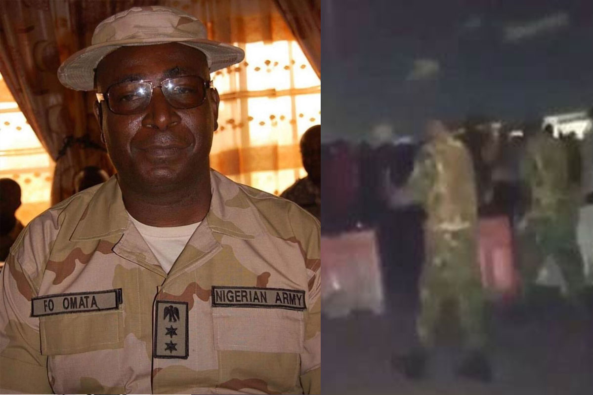 Lekki Toll-Gate Shooting: Meet Francis Omata, The Commander Who Is  Allegedly Behind The Massacre (PHOTOS)