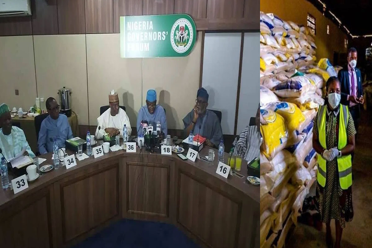 """We Hid Palliatives Ahead Of COVID-19 Second Wave"" – Nigeria Governors' Forum"