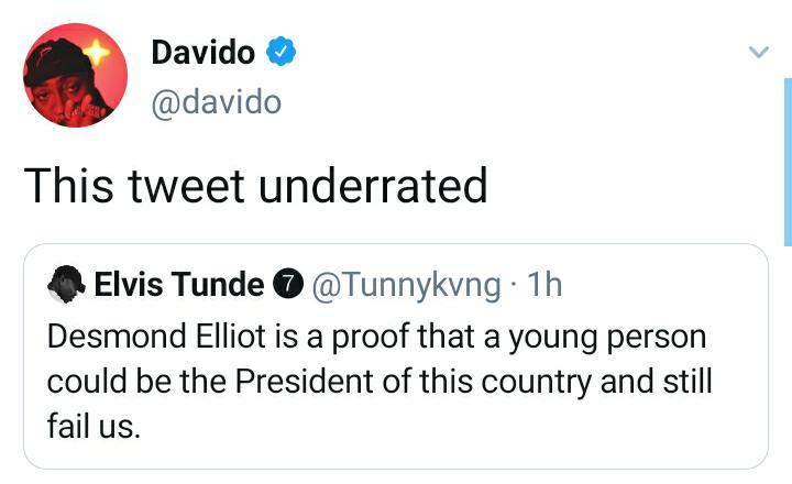 Davido Tweets