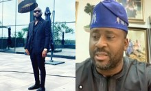What Davido said after Desmond Elliot's social media regulation video resurfaces