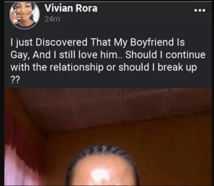 Lady Discovers Boyfriend Of Over 5 Years Is Gay And Asks For Help 1