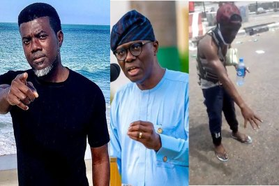 #LekkiMassacre: Reno Omokri shares video evidence of bloodshed at Lekki Toll Gate after Gov. Sanwo-Olu said there was no blood at the scene