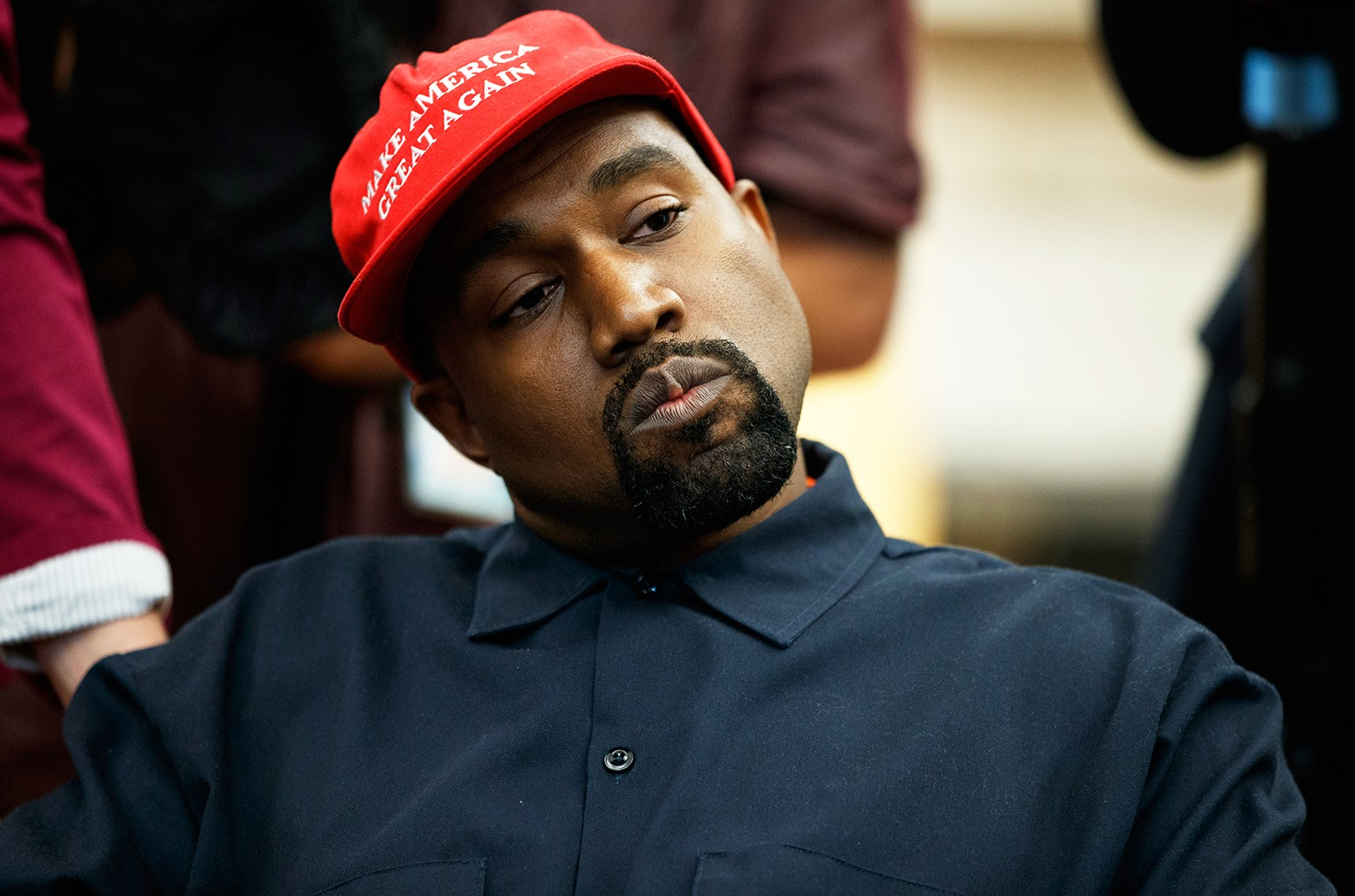 Kanye West Votes For Himself In 2020 Presidential Election By Gabs