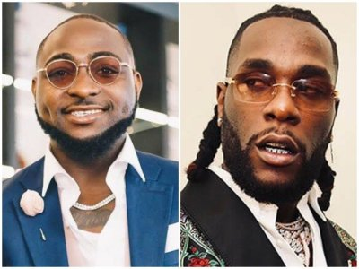 "Davido replies Burna Boy HOURS after allegedly calling him ""Floppy Disk"""
