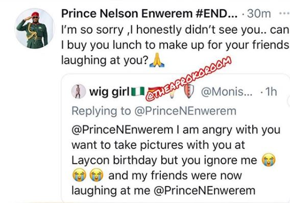 Dorathy's reaction after Prince offered to buy a female fan lunch, Check out Dorathy's reaction after Prince offered to buy a female fan lunch, Premium News24