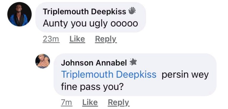 Tribal Mark Model, Adetutu Exposes Man Asking Her For A Hookup In Her DM But Calling Her Ugly In Her Comment Section